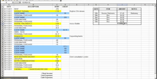 Daily Money Tracker Spreadsheet Pertaining To Business Expense Tracking Spreadsheet Daily Expense Tracker Excel