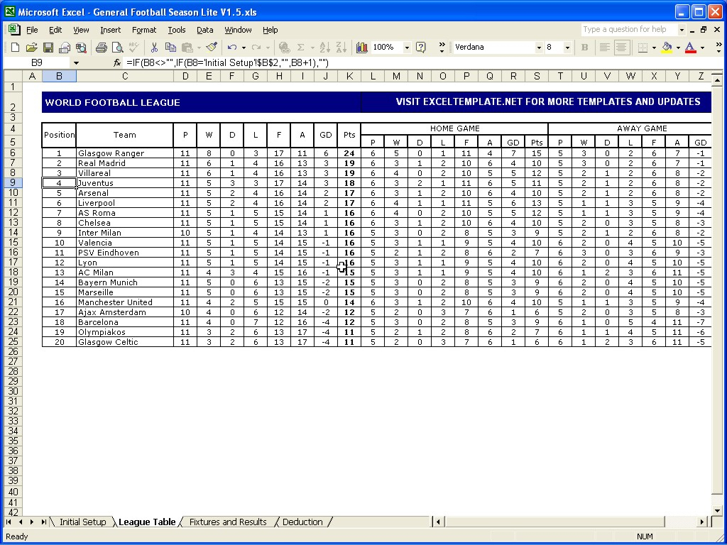Darts League Excel Spreadsheet With Regard To Football Prediction Game Excel