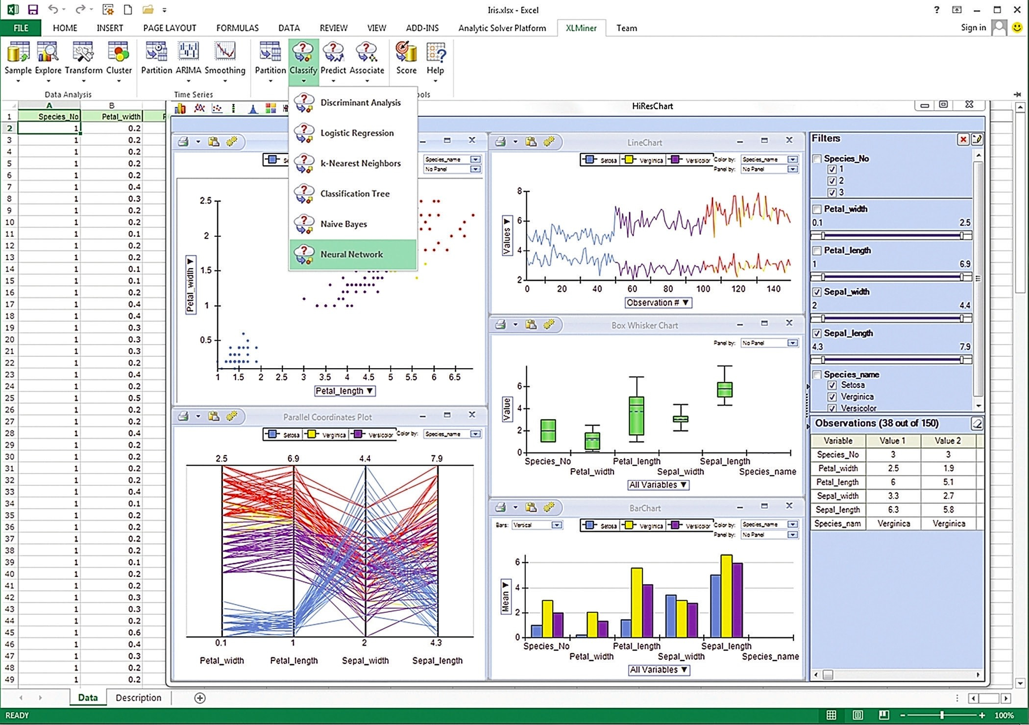 Data Mining Spreadsheets Throughout Introducing Analytic Solver Platform  Solver
