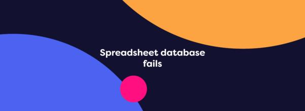 Database Vs Spreadsheet Throughout Databases Vs Spreadsheets: Excel, Access, Mysql