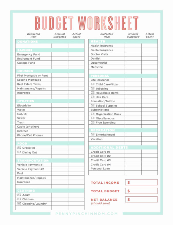 Dave Ramsey Budget Spreadsheet Template With Form Templates Dave Ramsey Budget Forms Sheet Unique Debt Snowball