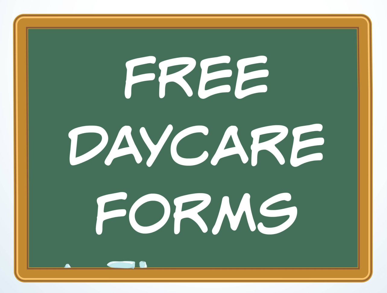 Daycare Accounting Spreadsheet Pertaining To Free Daycare Forms And Sample Documents
