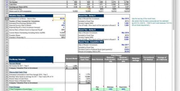 Daycare Excel Spreadsheet Regarding Business Plan Financials For Bus Spreadsheet Xls Daycare Pdf