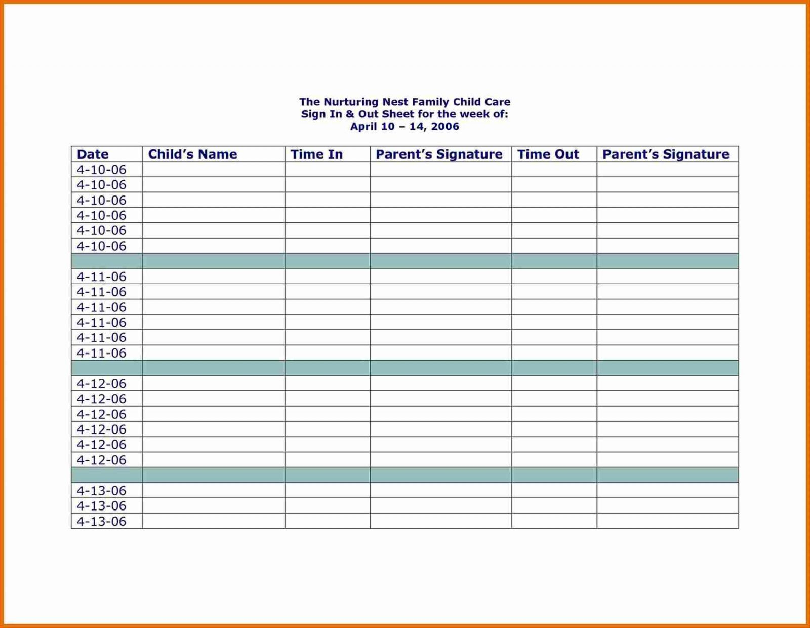 Daycare Payment Spreadsheet Template With Childcare Daycare  Neighborhood Opposition To Childcare Illustrates