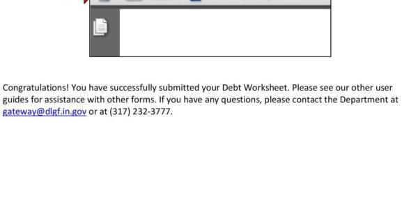 Debt Recycling Spreadsheet Regarding Gateway User Guide Debt Worksheet  Pdf