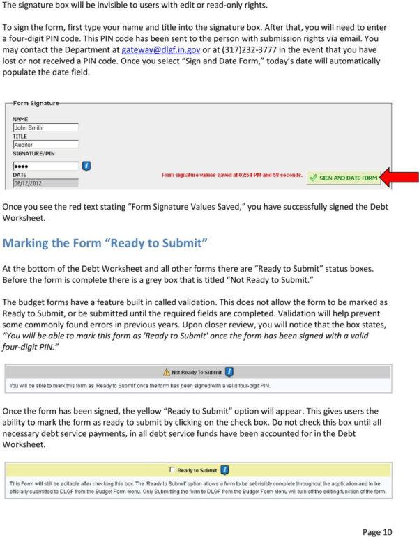 Debt Recycling Spreadsheet With Regard To Gateway User Guide Debt Worksheet  Pdf