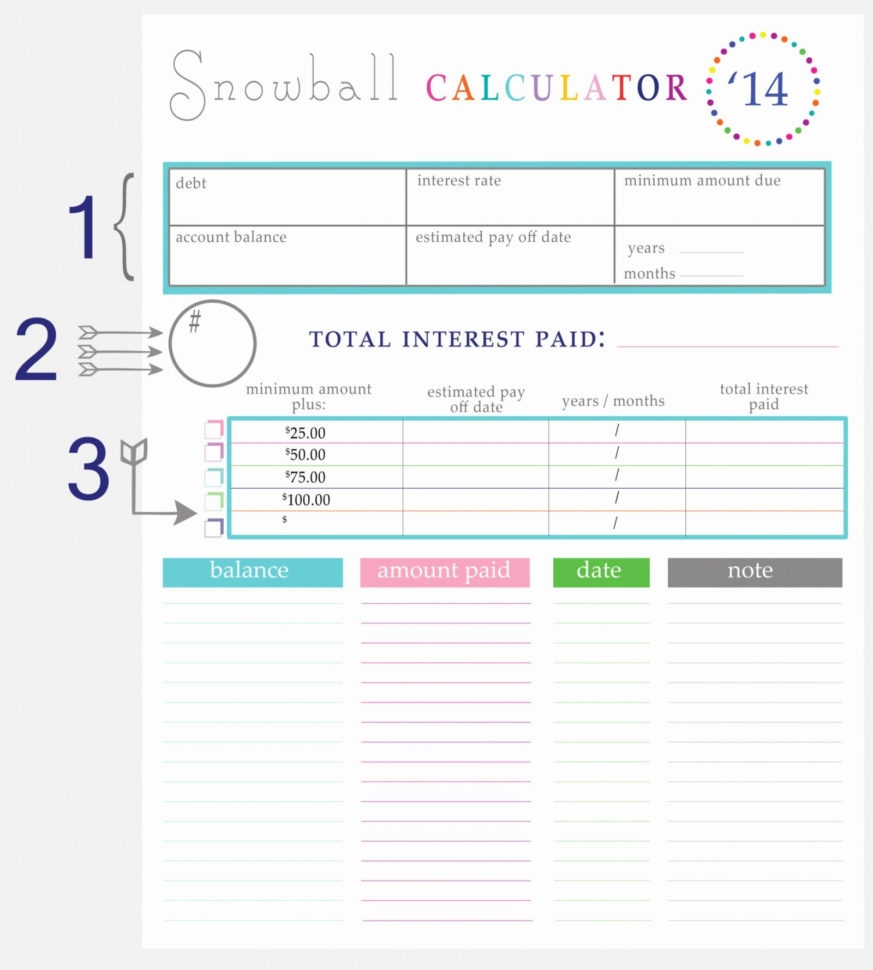 Debt Repayment Calculator Spreadsheet With Regard To Debt Snowball Spreadsheet Google Docs Luxury Spreadsheet Examples