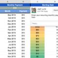 Debt Repayment Spreadsheet Intended For Debt Payoff Spreadsheet Template Google Sheets Repayment Ndash Josh