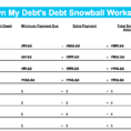 Debt Snowball Calculator Spreadsheet Intended For Example Of Debt Snowball Calculator Spreadsheet Complete Guide