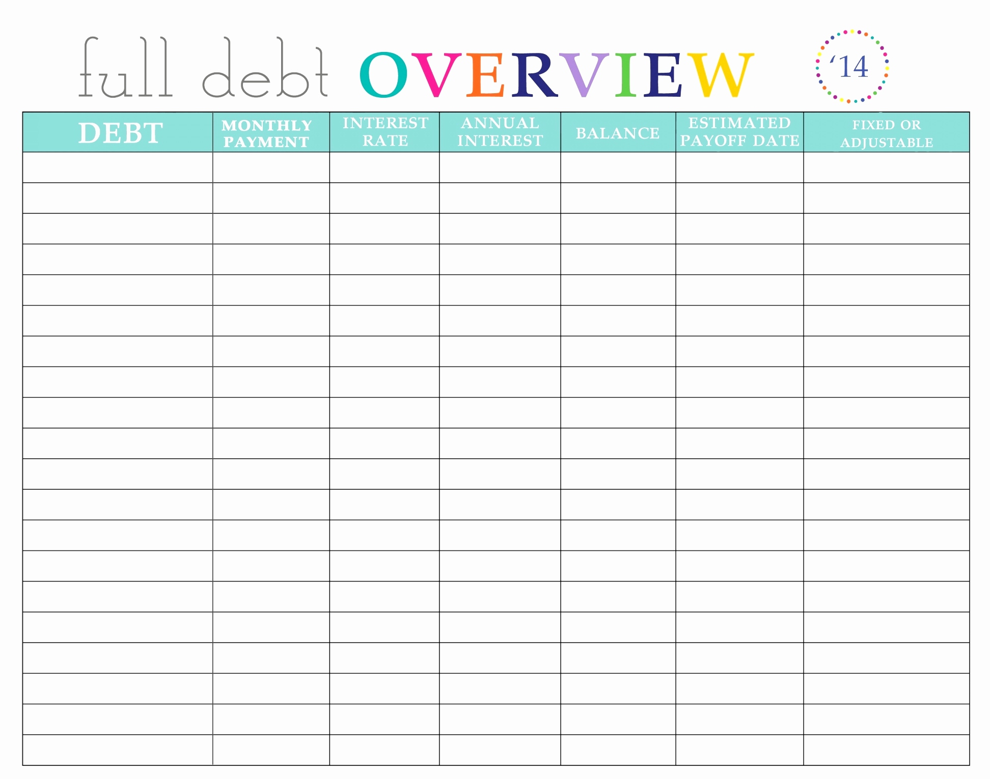 Debt Snowball Spreadsheet Within New Spreadsheet Software With Debt Snowball Spreadsheet Budget