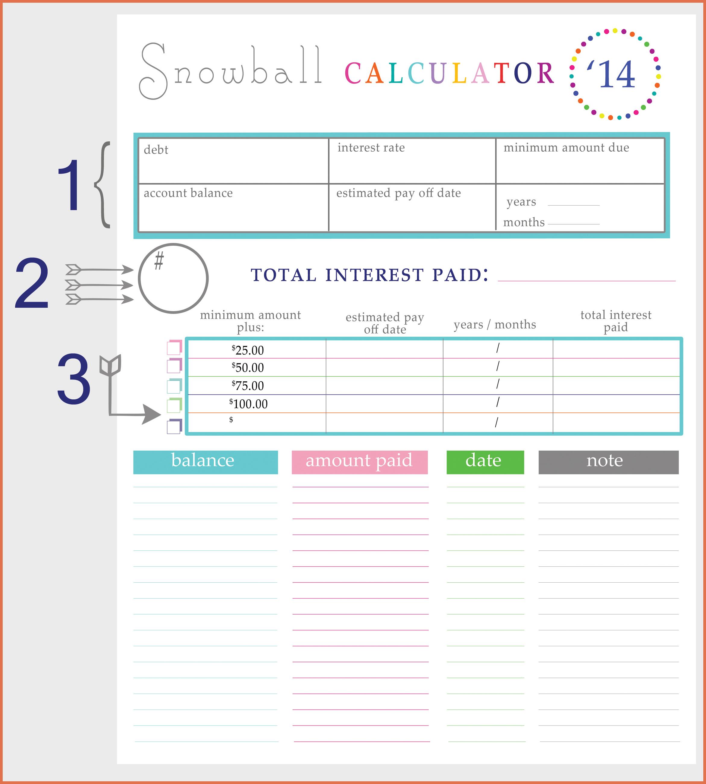 Debt Tracker Spreadsheet With Debt Tracker Spreadsheet – Spreadsheet Collections