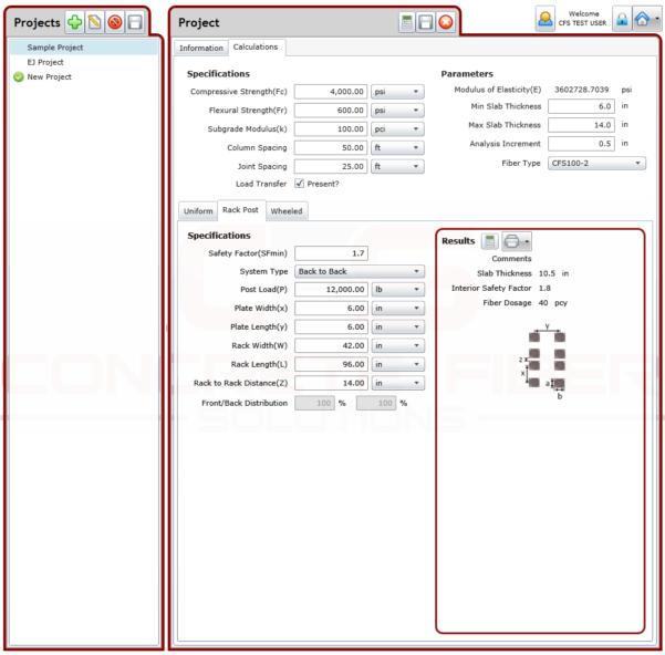 Deck Slab Design Spreadsheet Pertaining To Slab Calculator For Fiber Reinforced Concrete Slabs  Concrete Fiber
