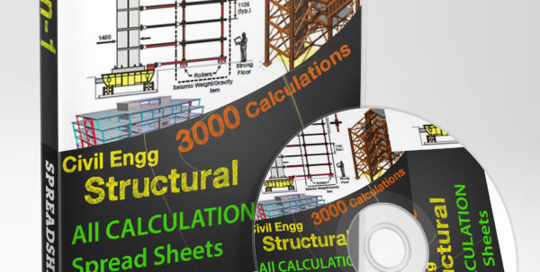 Deck Slab Design Spreadsheet Within Civilstructural Design Calculation Spreadsheets