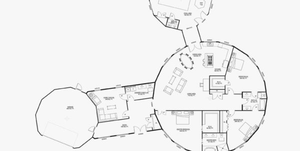 Deltec Homes Cost Spreadsheet Intended For Floor Plans For Round Homes  Round Ideas