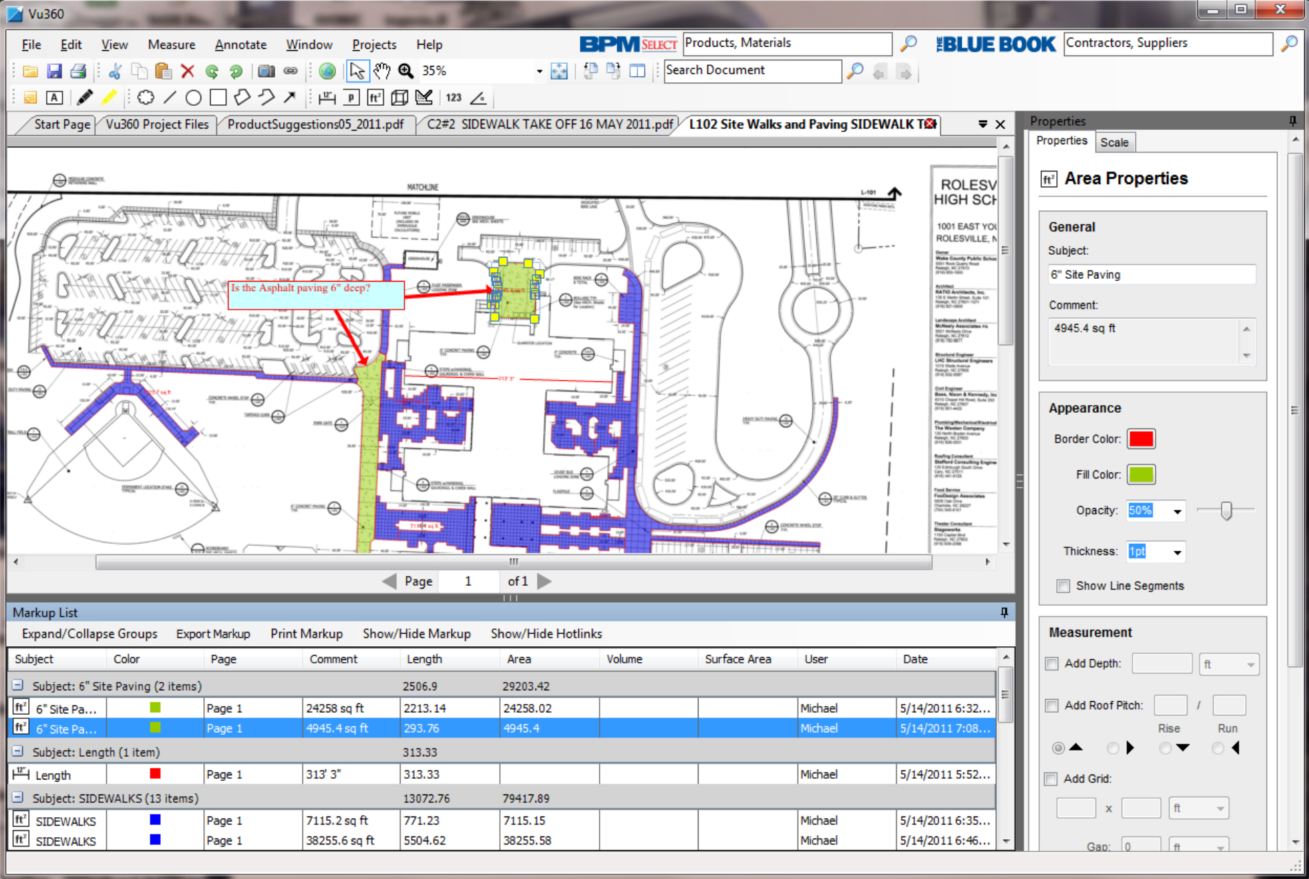 Demolition Estimating Spreadsheet Regarding 5 Free Construction Estimating  Takeoff Products Perfect For Smbs