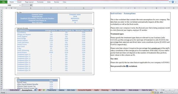 Dental Office Expense Spreadsheet Throughout Dental Clinic Budget Template  Cfotemplates