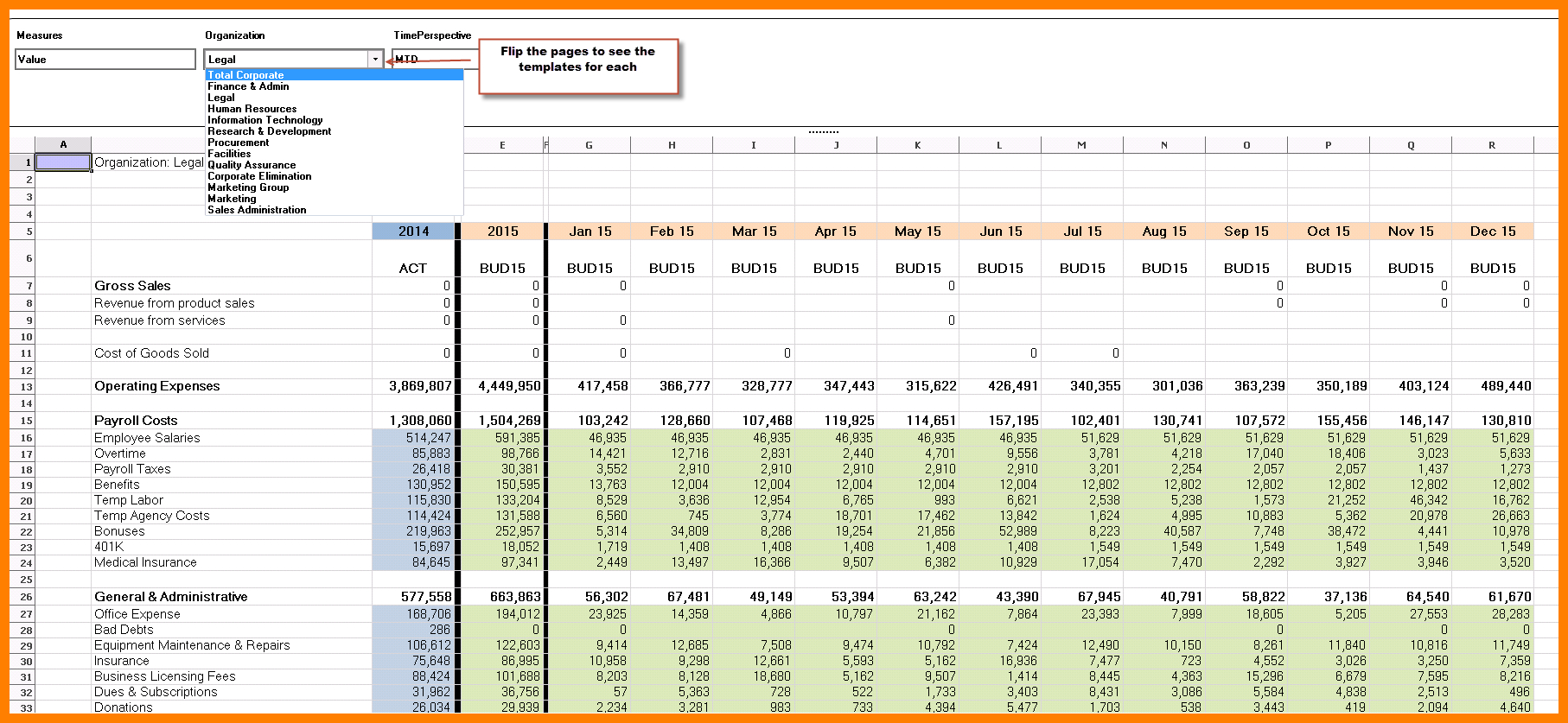 Department Budget Spreadsheet Within 8+ Departmental Budget Spreadsheet  Balance Spreadsheet