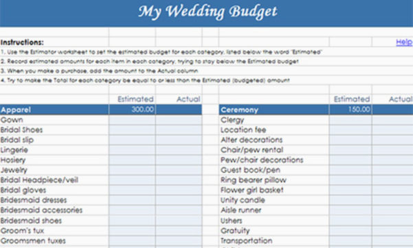 Destination Wedding Budget Spreadsheet With Regard To Destination Wedding Budget Spreadsheet Awesome Bud Worksheet Xls