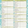 Detailed Wedding Budget Spreadsheet Intended For Wedding Budget Worksheet Template Checklist For Someday Pinterest