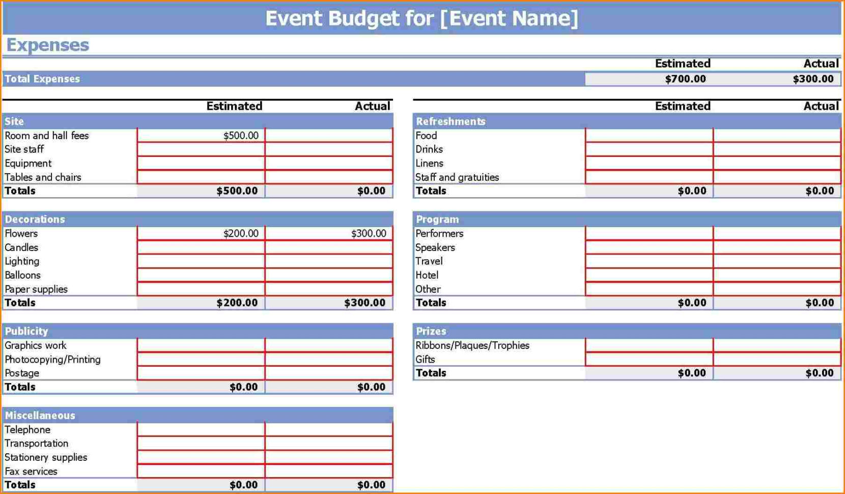 Detailed Wedding Budget Spreadsheet With Sample Wedding Budget Spreadsheet  Laobing Kaisuo