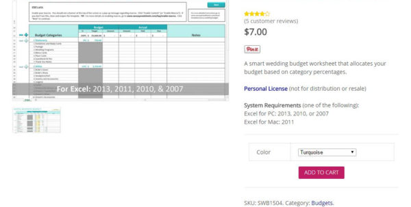 Detailed Wedding Budget Spreadsheet Within Boho Loves: Savvy Spreadsheets  Wedding Budget Speadsheets Free For