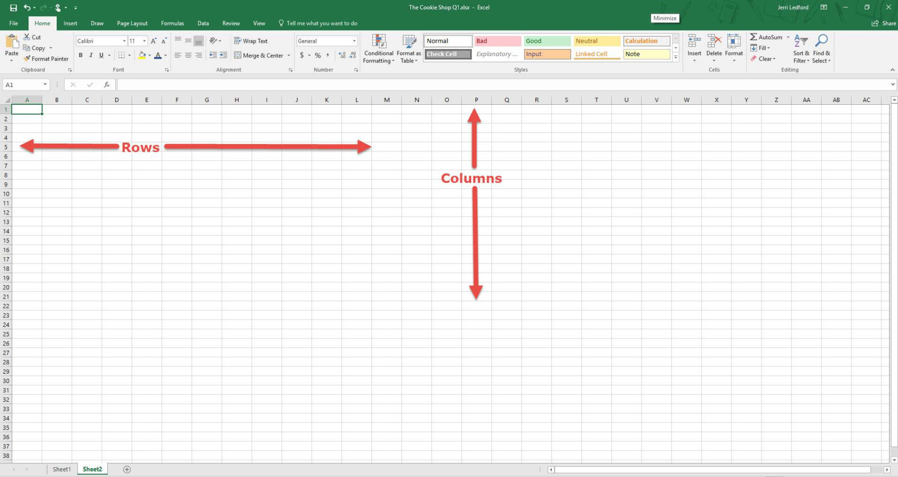Develop A Spreadsheet Using Computer Software Within What Is Microsoft Excel And What Does It Do?