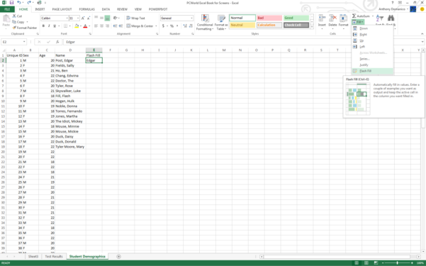 Develop And Use Complex Spreadsheets Excel 2013 Inside Real Excel Power Users Know These 11 Tricks  Pcworld