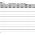 Diabetes Food Log Spreadsheet Throughout 017 Blood Sugar Log Template Diabetes Level Chart Luxury Printable