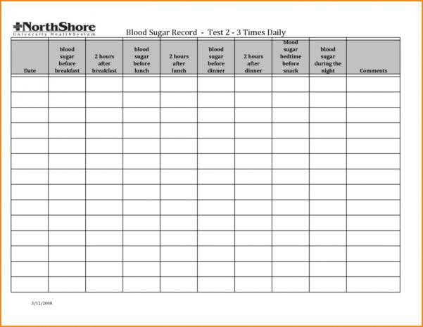 Diabetes Food Log Spreadsheet Throughout 017 Blood Sugar Log Template Diabetes Level Chart Luxury Printable