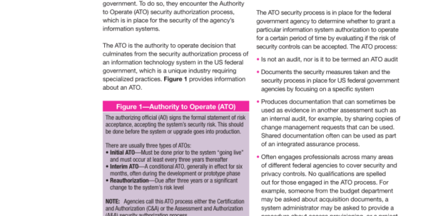 Diacap Controls Spreadsheet Intended For Pdf Is Audit Basics Navigating The Us Federal Government Agency Ato