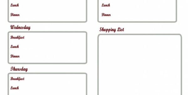 Diet Plan Spreadsheet Intended For Diabetic Meal Plan Printable Diet Diabetes Menu Planning Worksheet