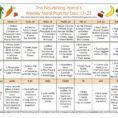 Diet Plan Spreadsheet Regarding Fast Metabolism Diet Meal Plan Spreadsheet  Spreadsheet Collections
