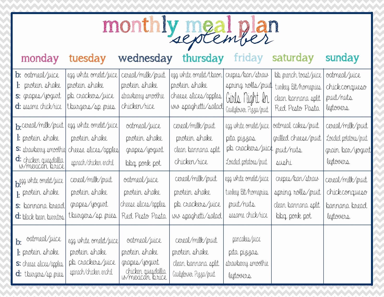 Diet Plan Spreadsheet Throughout Fast Metabolism Diet Meal Plan Spreadsheet Fresh Meal Plan