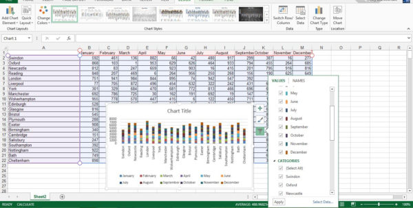 Different Types Of Spreadsheet Software Programs In Use Inside Spreadsheet Software: Top Five On The Market  Techradar