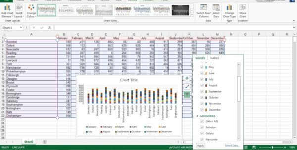 Different Types Of Spreadsheet Software Programs In Use Inside Spreadsheet Software: Top Five On The Market  Techradar