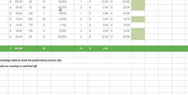 Digital Marketing Spreadsheet Within Marketing Campaign Tracking Excel Template For Digital Business With