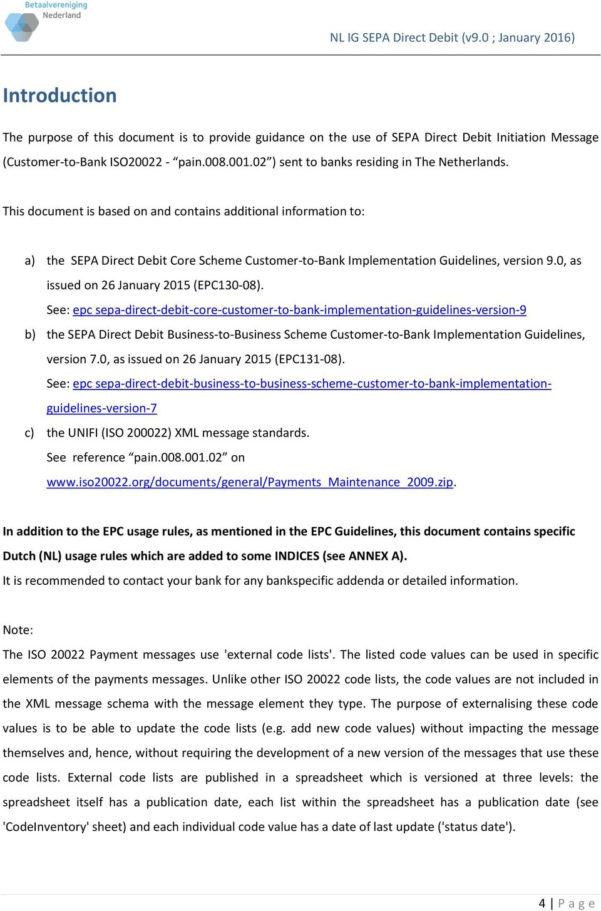 Direct Debit Spreadsheet Inside Sepa Direct Debit Initiation Customertobank Implementation