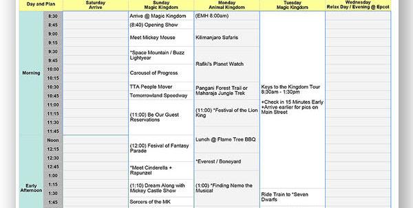 Disney Dining Plan Spreadsheet Intended For Spreadsheet Archives  Dream Plan Fly