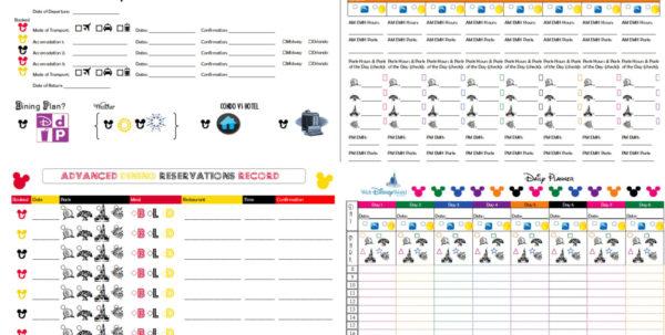 Disney Planning Spreadsheet Download Intended For Disney Trip Planner Spreadsheet  Homebiz4U2Profit