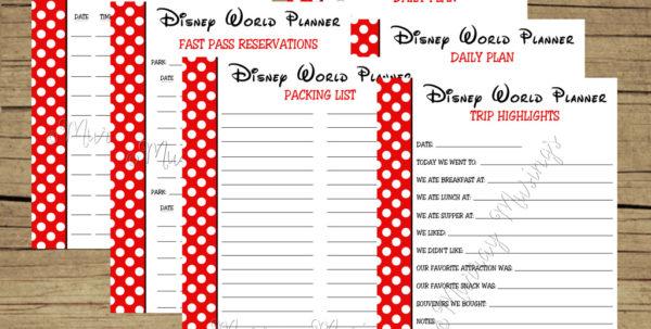 Disney Planning Spreadsheet Download Regarding Disney World Planning Guide Spreadsheet  Homebiz4U2Profit