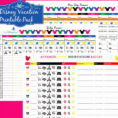Disney Planning Spreadsheet pertaining to Disney Planner Spreadsheet Beautiful Walt World Planning Lovely Bud