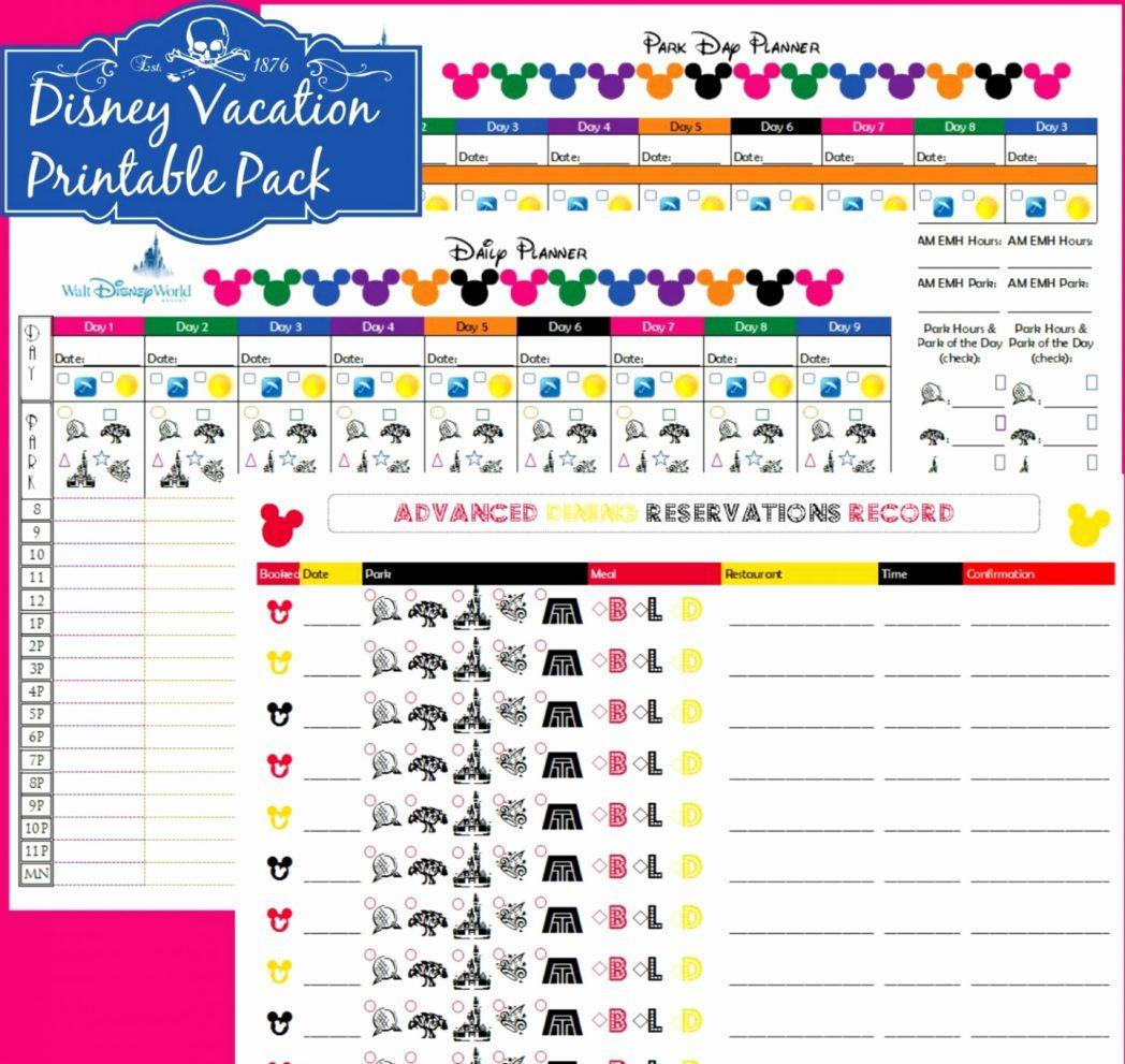 Disney Planning Spreadsheet Pertaining To Disney Planner Spreadsheet Beautiful Walt World Planning Lovely Bud