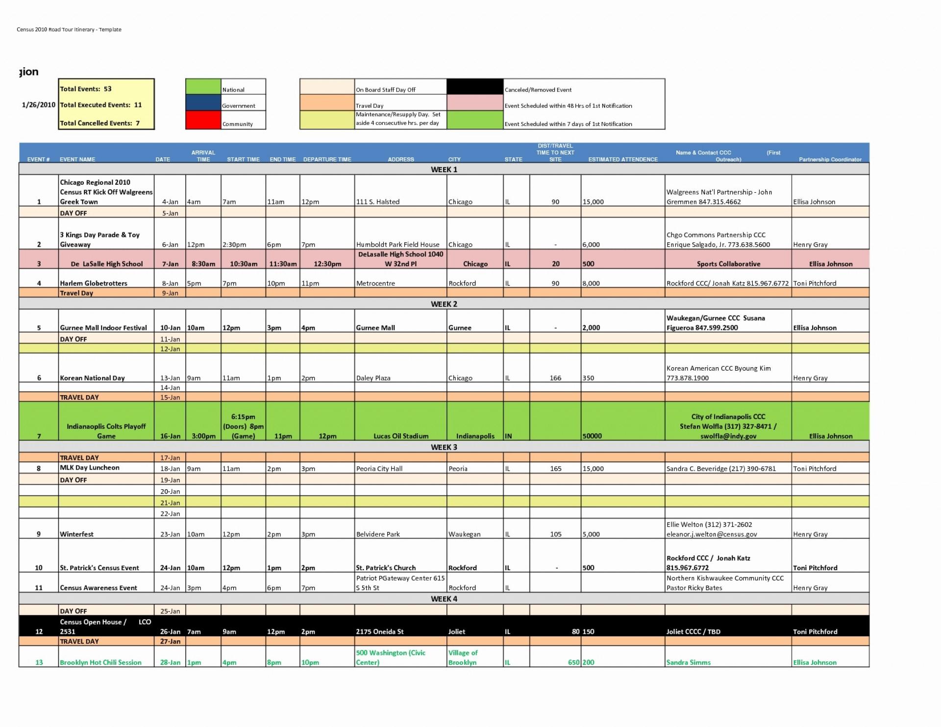 Disney World Day Planner Spreadsheet With 011 Travel