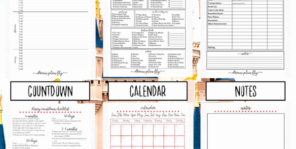 Disney World Day Planner Spreadsheet With Regard To Town Hall 9 Upgrade Spreadsheet Luxury Disney World Trip Planner