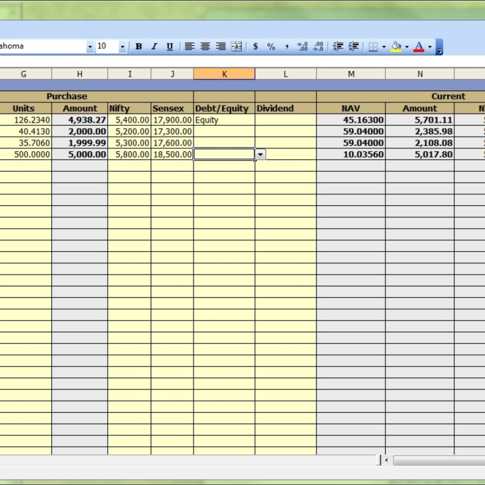 dividend spreadsheet templates  Dividend Spreadsheet Templates With Portfolio Tracking Spreadsheet Dividend Stock Tracker With Dividend Spreadsheet Templates Printable Spreadshee