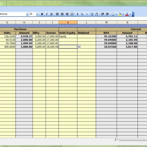 Dividend Tracker Spreadsheet Excel For Portfolio Tracking Spreadsheet Dividend Stock Tracker With