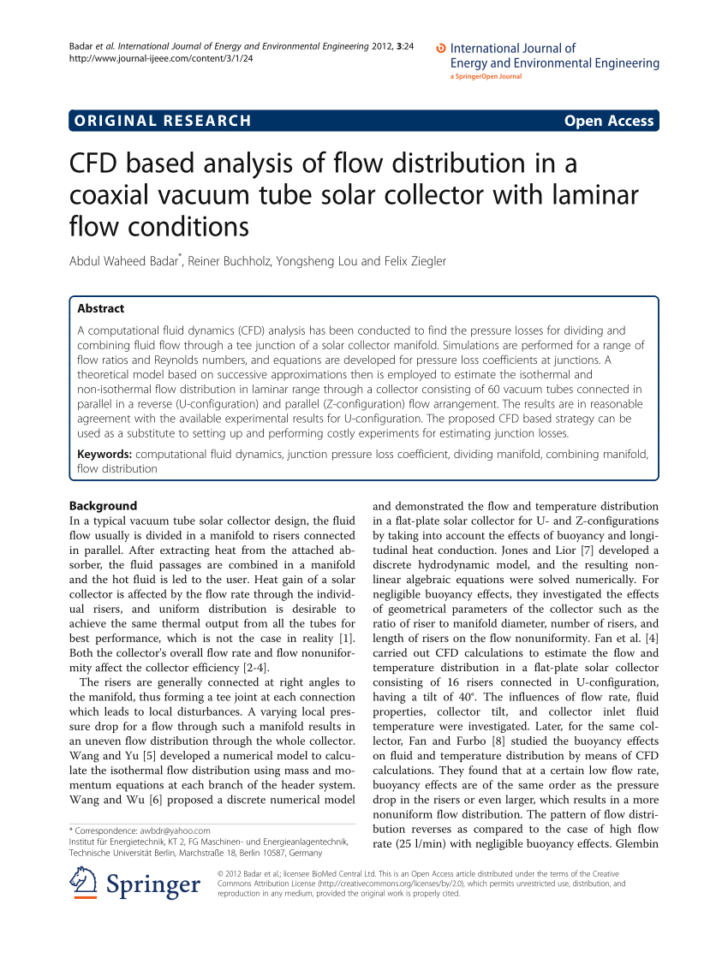 dividing-flow manifold calculations with a spreadsheet  Dividing Flow Manifold Calculations With A Spreadsheet Within Loss Coefficients At The Dividing And Combining Manifold.  Download Dividing Flow Manifold Calculations With A Spreadsheet Printable Spreadshee