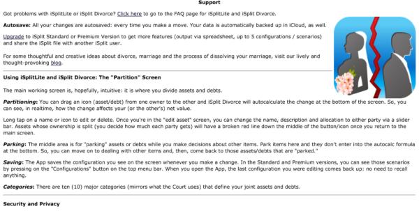 Divorce Asset Spreadsheet Intended For Isplit Divorce  A Mobile Divorce App For The Ipad Divorce Asset Spreadsheet Google Spreadsheet