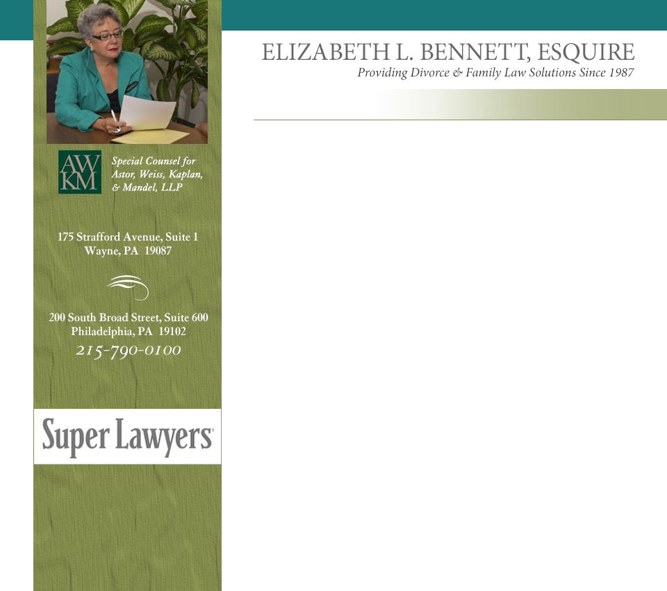 Divorce Asset Spreadsheet Regarding Ennsylvania Equitable Distribution Attorney  Philadelphia Wayne