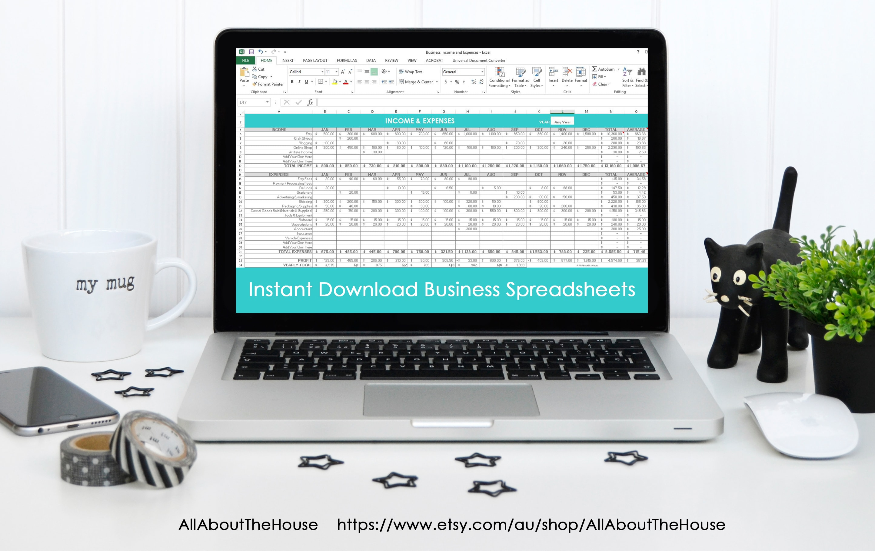 Diy Accounting Spreadsheets With Regard To Simple Spreadsheets To Keep Track Of Business Income And Expenses